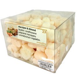 Intensive Collection Natural Scented Wax Melts Scented Table Refill 650 g - Marzipan & Almond