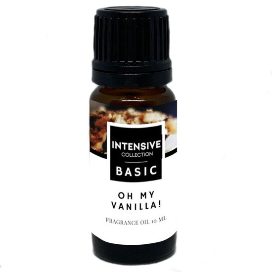 Intensive Collection Amber Basic fragrance oil in natural glass bottle 10 ml - Oh My Vanilla!